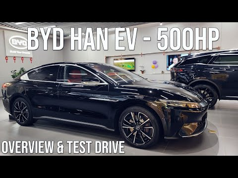 BYD Announces Prices For Han Electric And Plug-In Hybrid