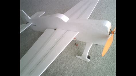 Making a 3D Foamy RC Airplane for Cheap! Plans to Maiden