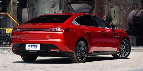 BYD Han EV - luxury electric shock from China