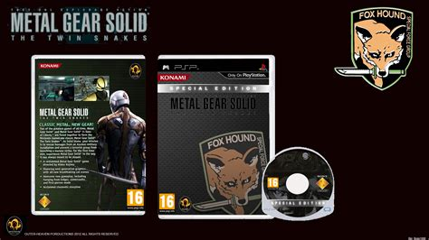 Metal Gear Solid Twin Snakes (PSP Cover Fan Made) by Outer