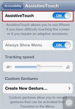 How to Turn on Assistive Touch in iPhone and iPad