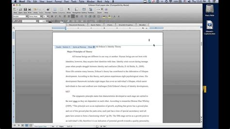 Microsoft Word For Mac Different First Page Header
