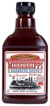 Mississippi Sweet & Spicy - Barbecue-Sauce - 440ml