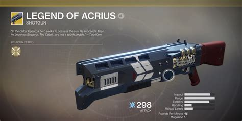 Destiny 2: How To Get Every Exotic Weapon   All Exotics